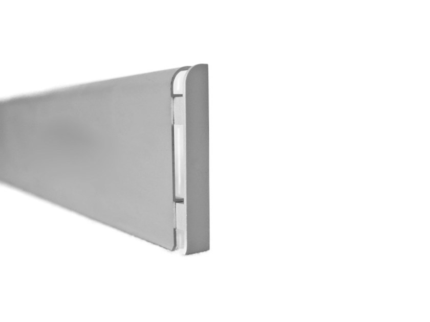Aluminium Skirting board KRC by Genesis