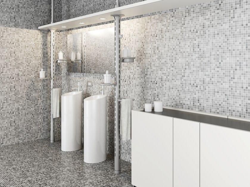 Open metal bathroom cabinet KRISTHO | Bathroom cabinet by De Rosso