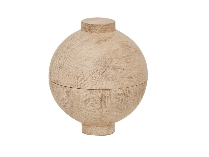 Ciotola in rovere KRISTINA DAM -  WOODEN SPHERE ROVERE by Archiproducts.com