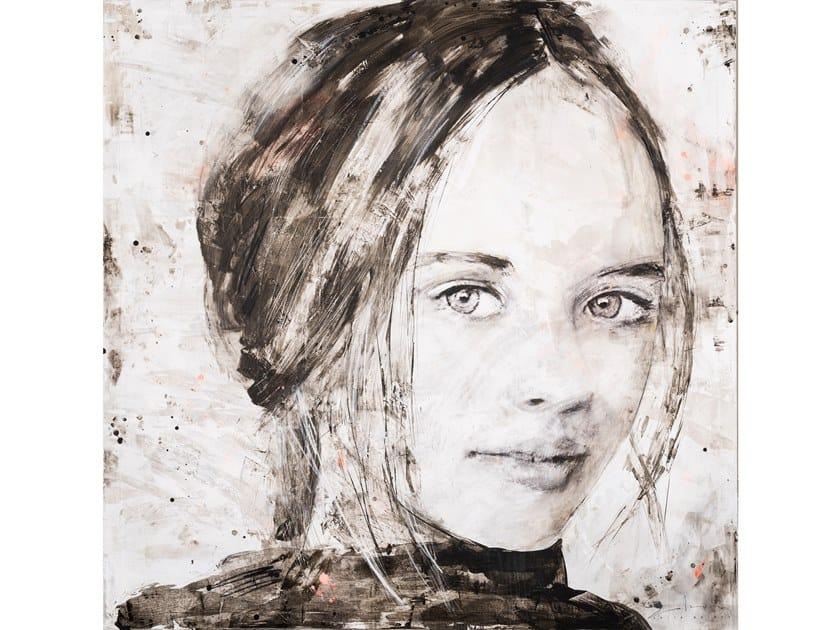 Canvas Painting Kristina by NOVOCUADRO ART COMPANY