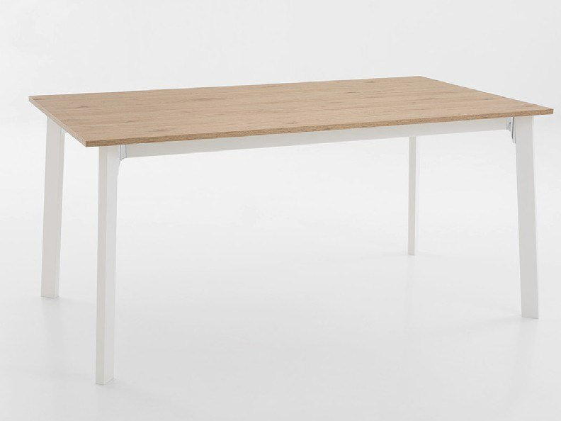 Extending rectangular aluminium table KRONO BASIC | Table by Pointhouse