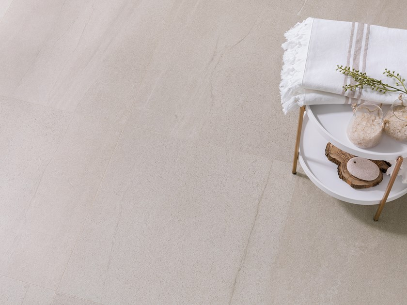 Porcelain stoneware wall/floor tiles with stone effect KRONO CLAY by URBATEK