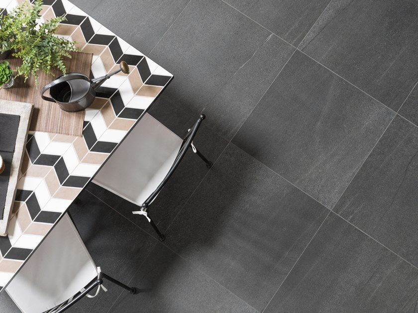 Porcelain Stoneware Wall Floor Tiles With Stone Effect Krono