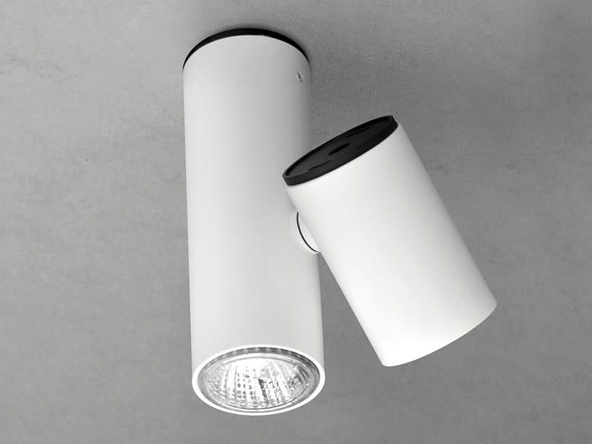 LED adjustable ceiling spotlight KRONN 6237 by Milan Iluminacion