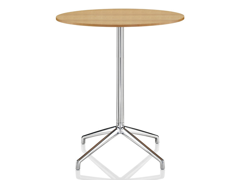 Melamine high table with 4-star base KRUZE | High table by Boss Design
