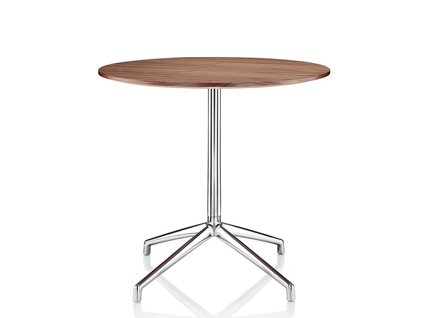 Melamine table with 4-star base KRUZE | Melamine table by Boss Design