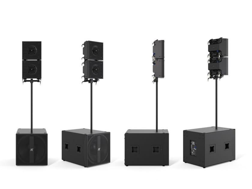 Sistema portatile di medio formato ad alte prestazioni AXLE KRX402 by K-array