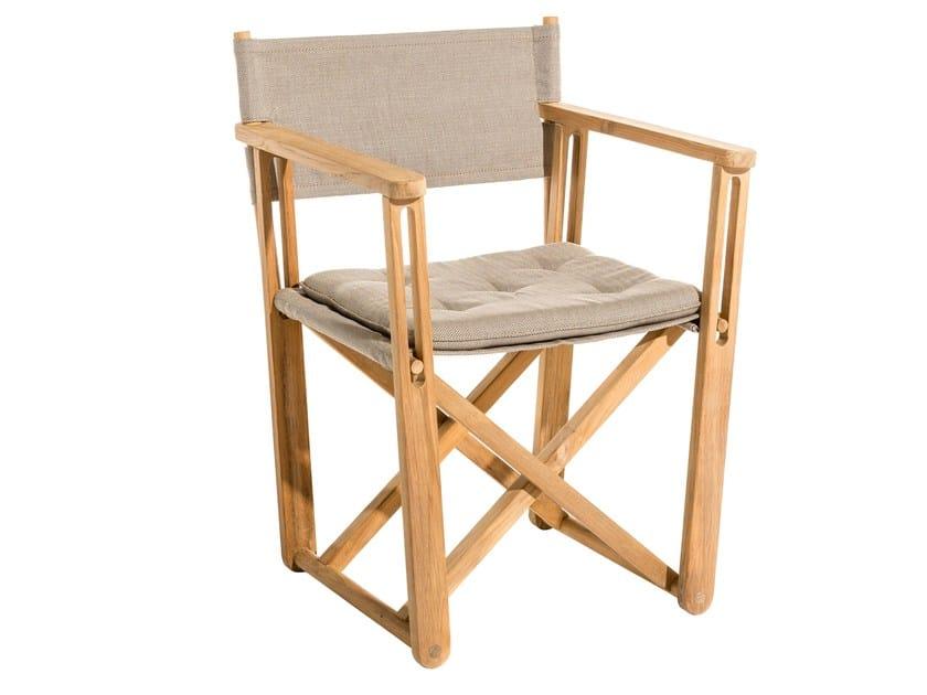 Folding Sunbrella® chair KRYSS LOUNGE | Chair by Skargaarden