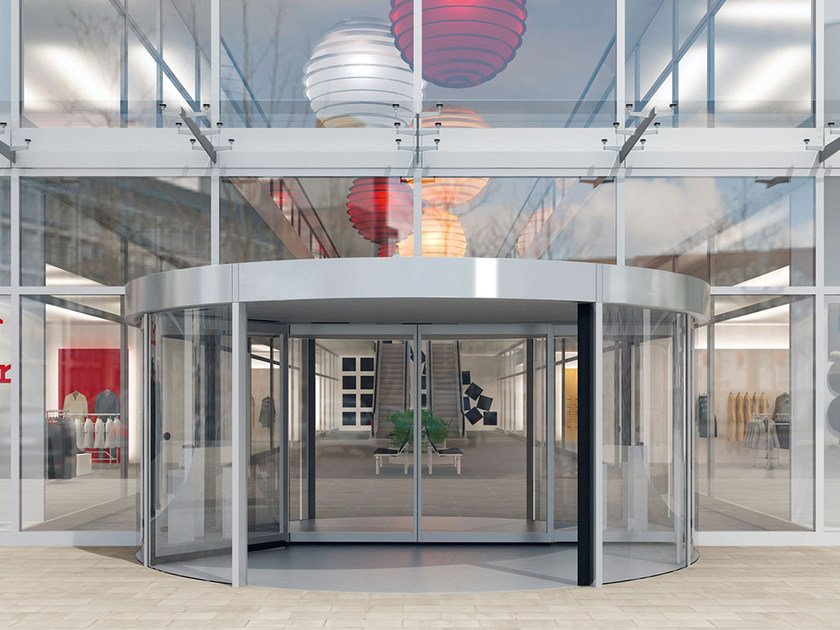 Revolving entrance door KTC-2 | Revolving entrance door by Dormakaba
