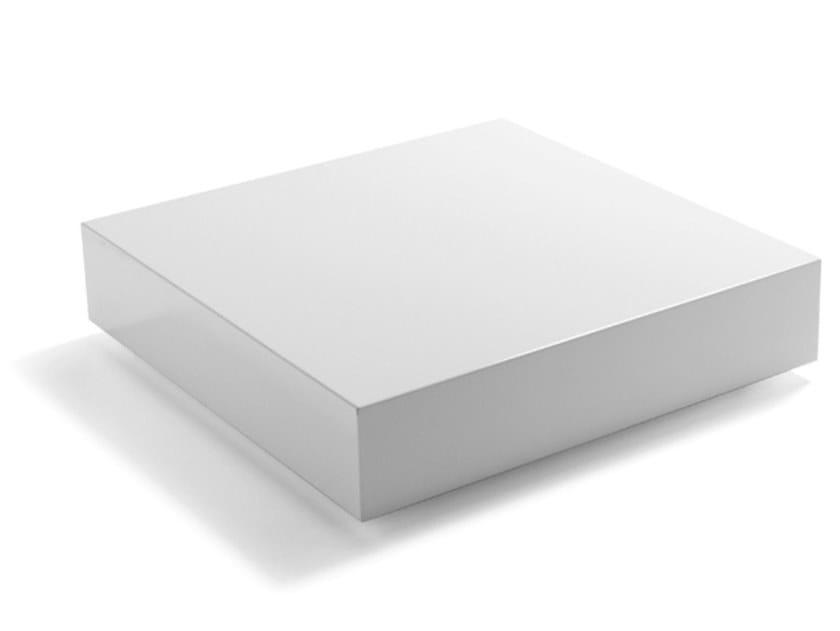 Tavolino basso quadrato in MDF KUADRO by Dema