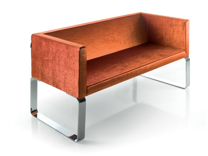 2 seater sofa KUBIBENCH by Gamma & Bross