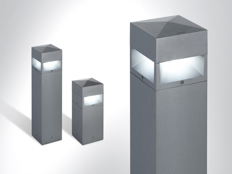 LED bollard light KUBIX 180 by Arcluce