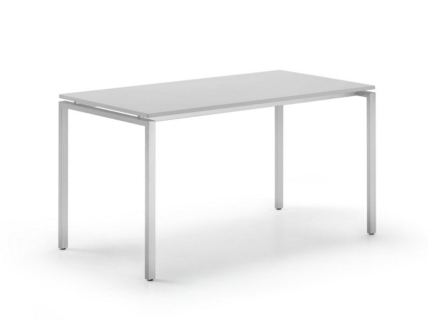 Rectangular MDF workstation desk KUDOS 960 | Office desk by TALIN
