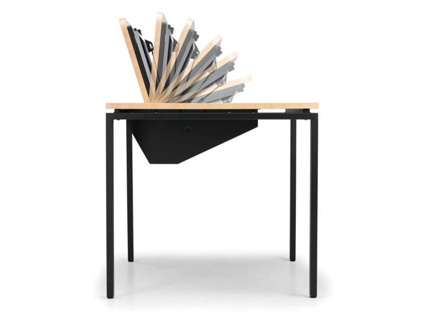 Rectangular workstation desk KUDOS 974 by TALIN