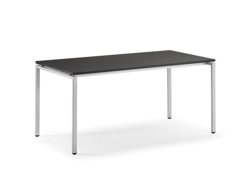 Rectangular MDF workstation desk KUDOS 980 by TALIN