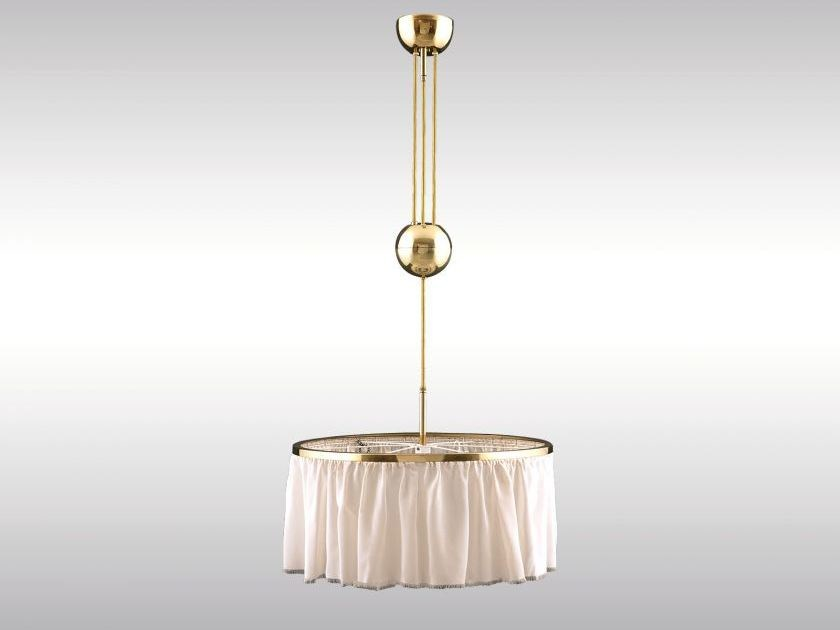 Classic style pendant lamp KUGELZUG by Woka Lamps Vienna