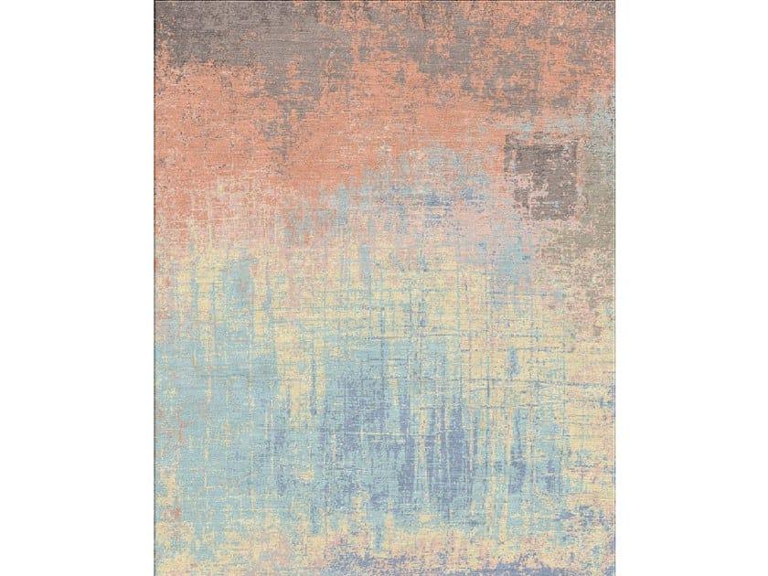Handmade rectangular rug KUMHALAANA ESK-9014 by Jaipur Rugs
