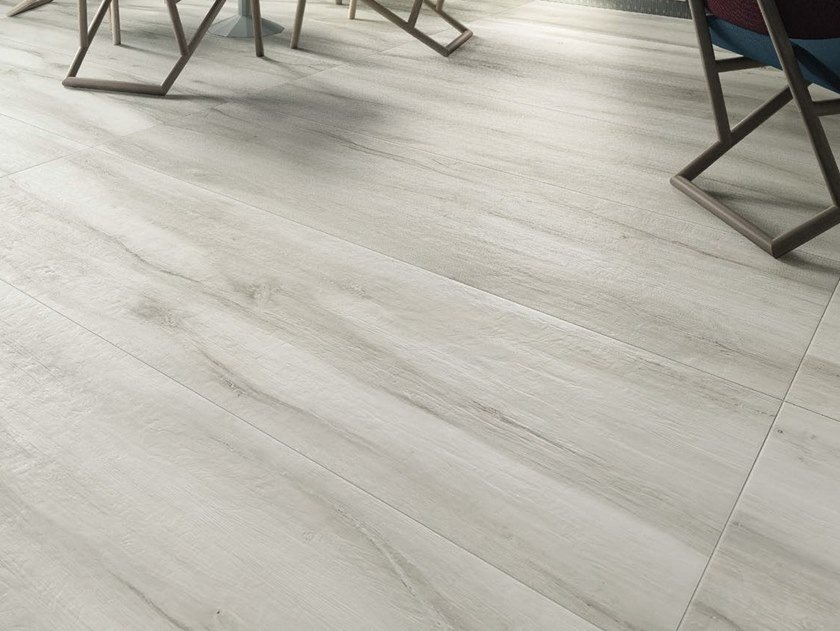 Porcelain stoneware flooring with wood effect KUNI W by Ceramica d'Imola
