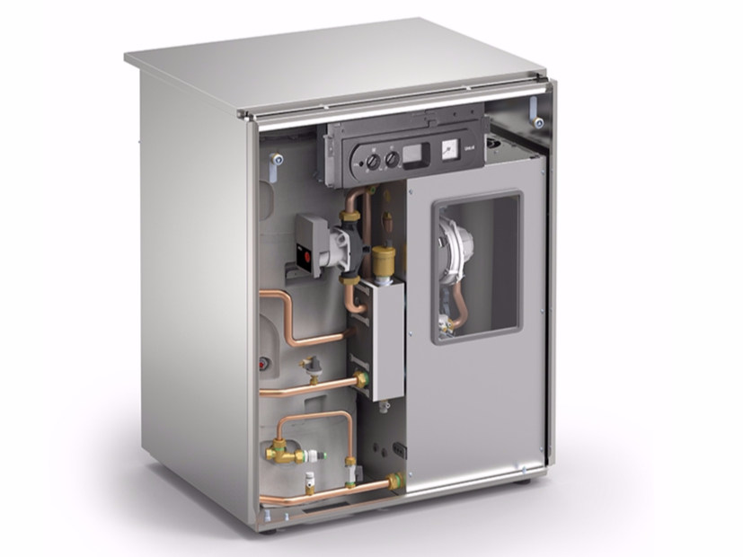 Floor standing condensing gas boiler KUTter B inox by Unical AG