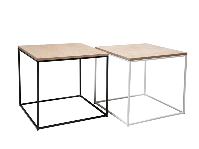 Square side table KUUBIK S by SOFTREND