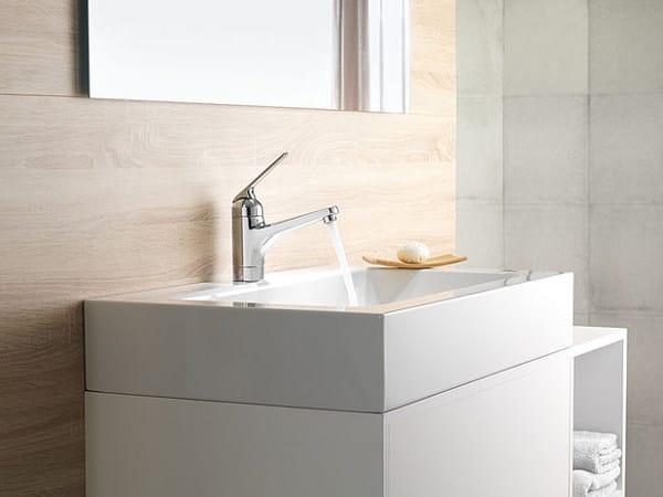 Miscelatore per lavabo cromo da piano monocomando KWC DOMO   Miscelatore per lavabo da piano by KWC