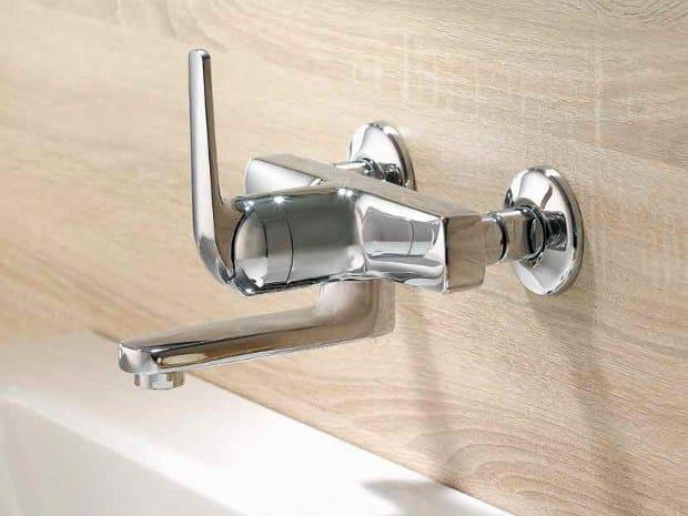 KWC DOMO | Miscelatore per lavabo a muro Collezione DOMO By KWC