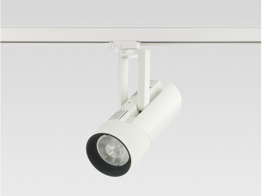 Led die cast aluminium track light kylios by reggiani