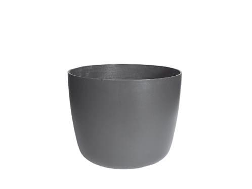 Low cement garden vase KYOTO by SWISSPEARL Italia
