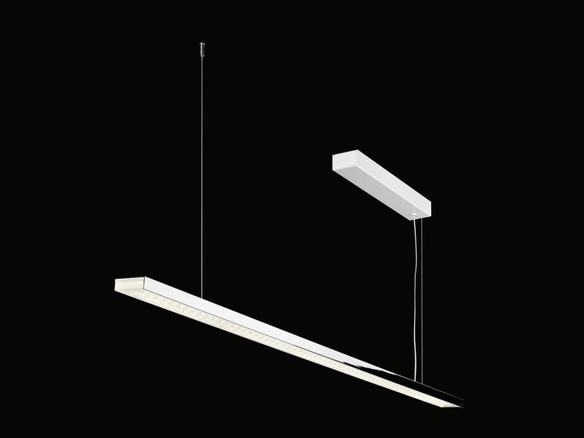 Lampada a sospensione a LED a luce diretta in alluminio L 120   Lampada a sospensione by Nimbus