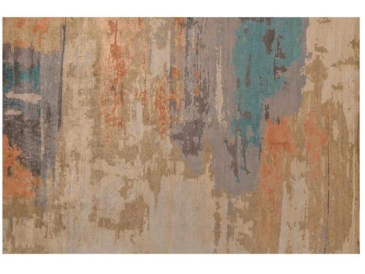 Handmade Bamboo silk rug LOFT L262A by Mohebban