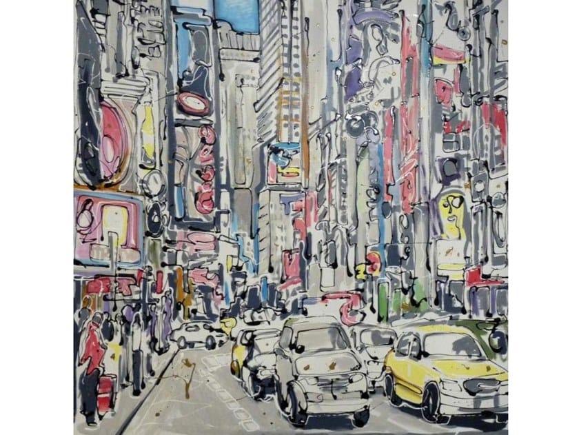 Canvas Painting La Carrera by NOVOCUADRO ART COMPANY