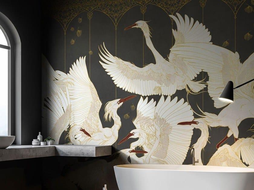 Panoramic nonwoven wallpaper LA DANSE by Tecnografica