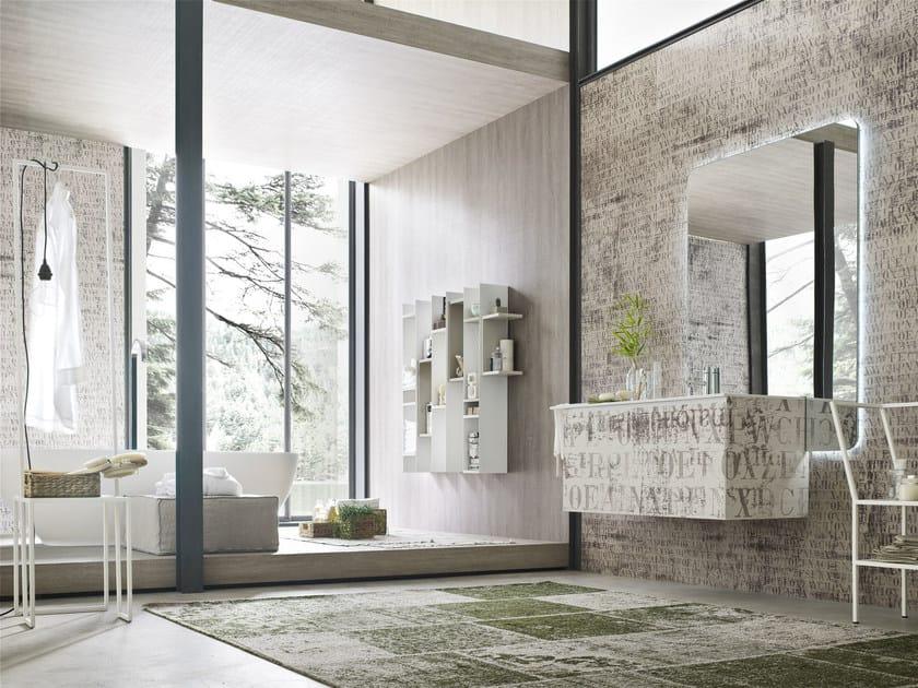 Sistema bagno componibile LA FENICE DECOR - COMPOSIZIONE 22 by Arcom