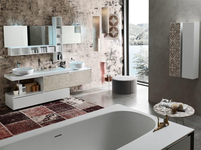 Bathroom cabinet / vanity unit LA FENICE DECOR - COMPOSIZION 26 by Arcom