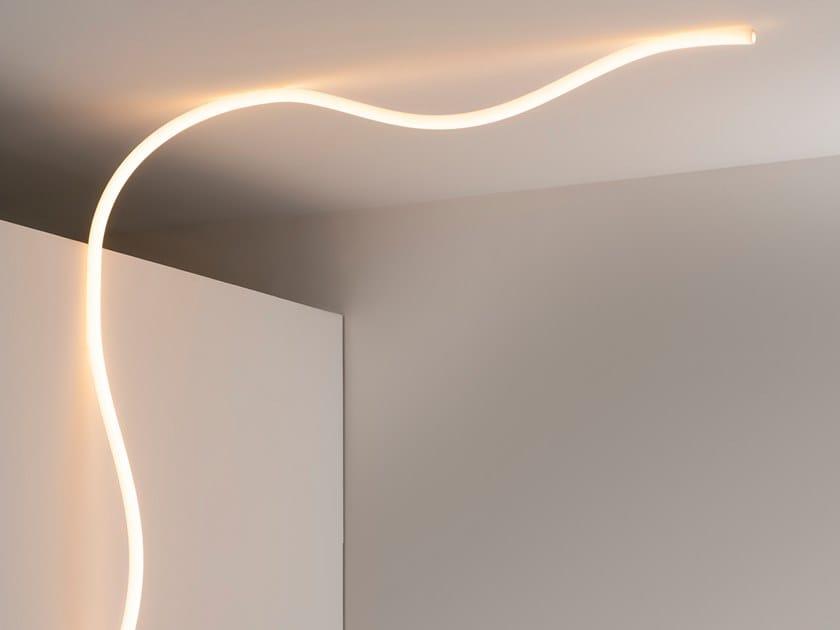 Lampada da parete / lampada da soffitto in silicone LA LINEA by Artemide
