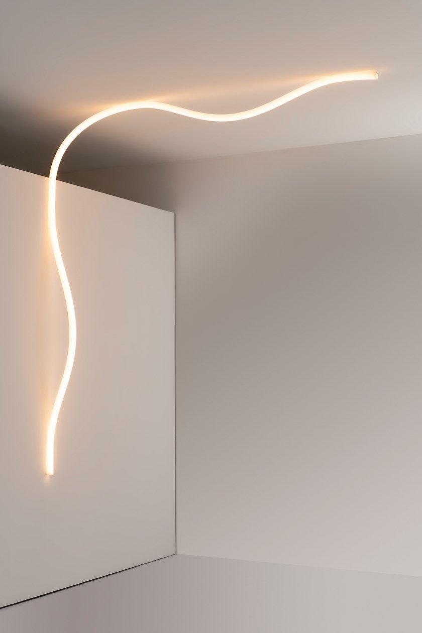 Tunnel Solare A Parete lampada da parete / lampada da soffitto in silicone la linea