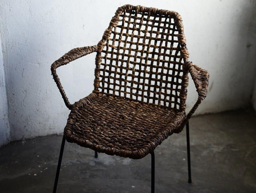 Sedia con braccioli LA PERLA GUINEO | Sedia con braccioli by Tucurinca