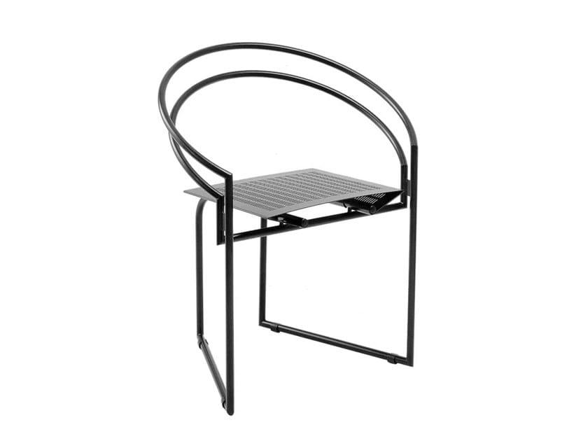 Cadeira em aço LA TONDA 614 by Alias