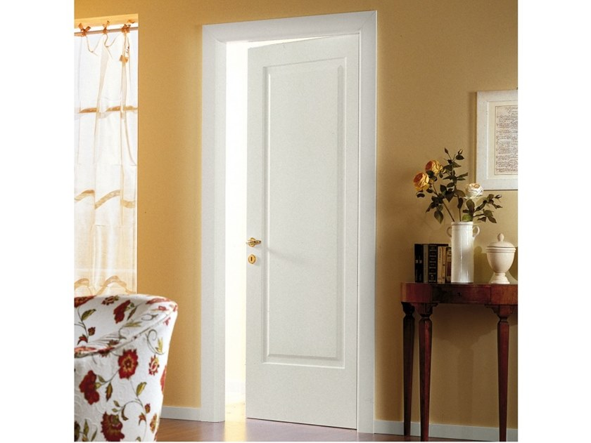 Hinged lacquered wooden door Lacquered door by Ital-Plastick