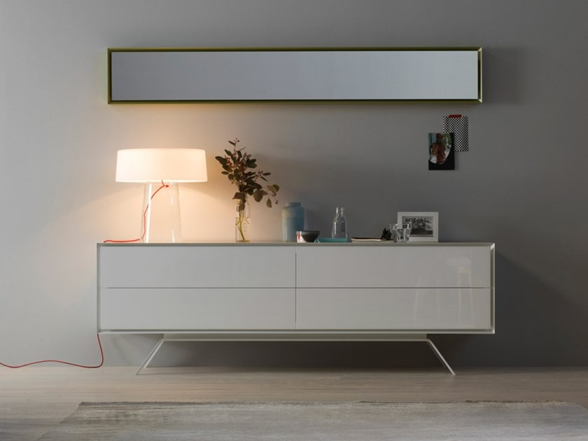 Sideboard with drawers QUARANTACINQUE | Lacquered sideboard by Capo d'Opera