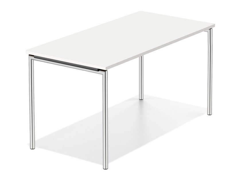 Rectangular meeting table LACROSSE FIX II by Casala