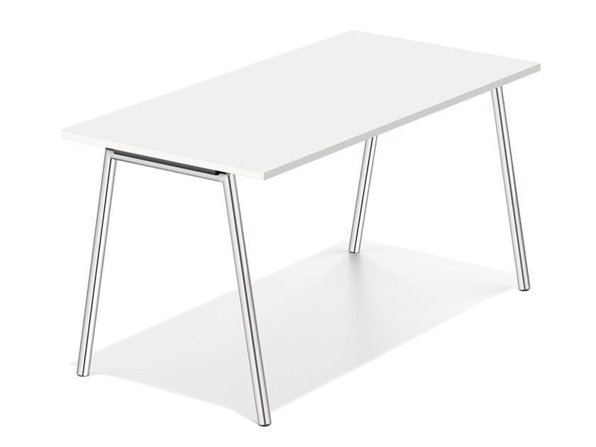 Tavolo da riunione rettangolare LACROSSE FIX III by Casala