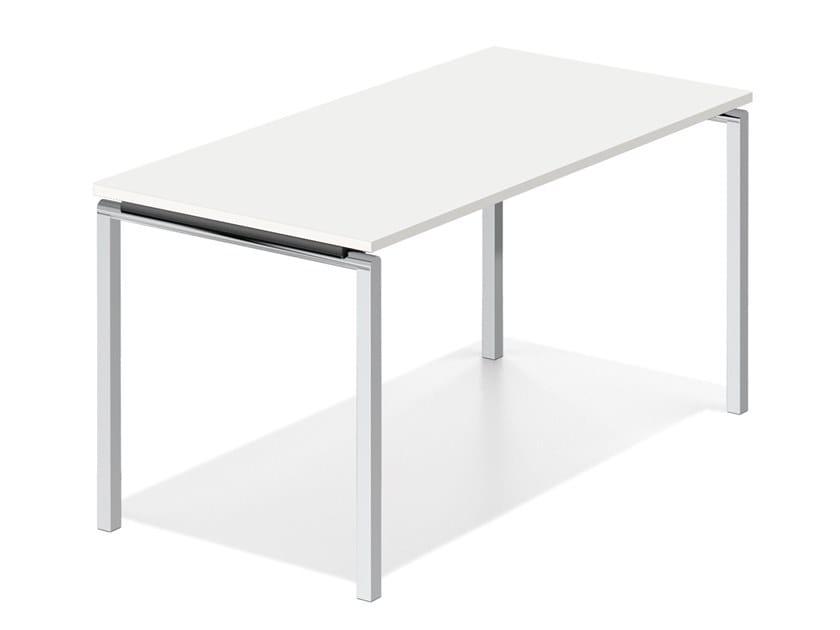 Tavolo da riunione rettangolare LACROSSE FIX V by Casala
