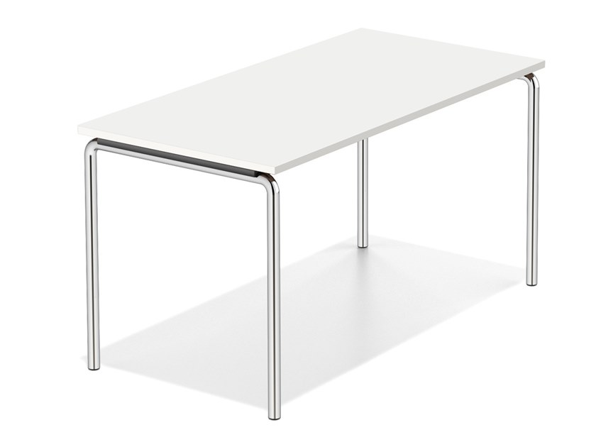 Rectangular meeting table LACROSSE I FIX by Casala