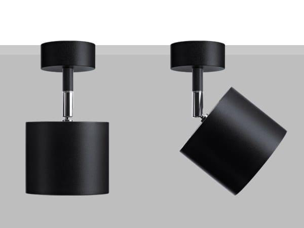 Proiettore orientabile da parete o soffitto in metallo LAD S10 by Flexalighting