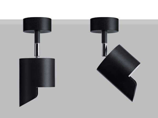 Proiettore orientabile da parete o soffitto in metallo LAD S10 WW by Flexalighting