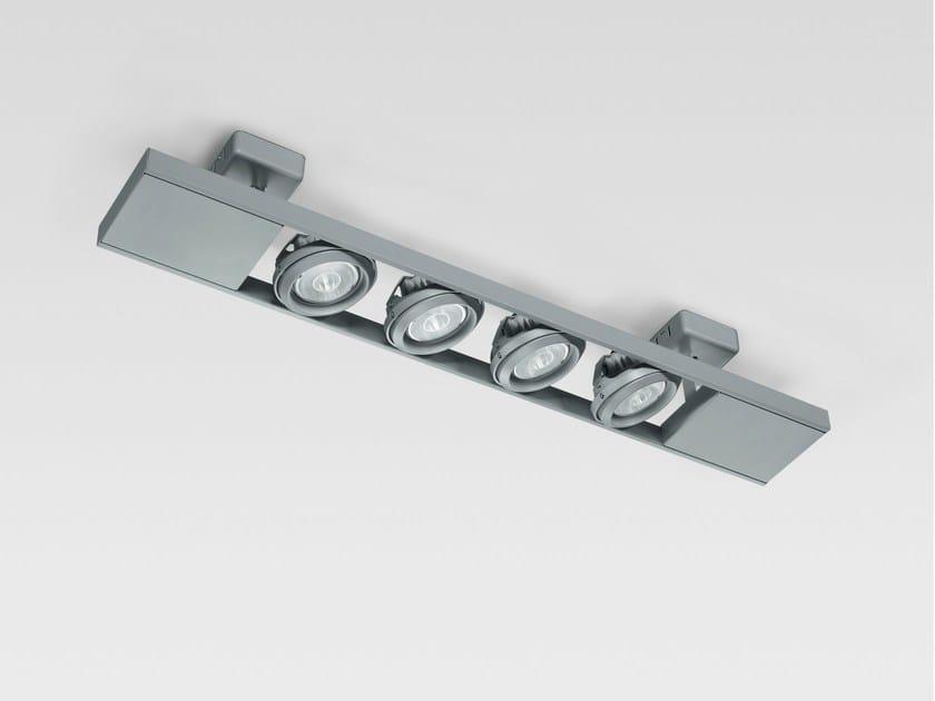 LED multiple ceiling spotlight LADDER 4X | Ceiling spotlight by Reggiani