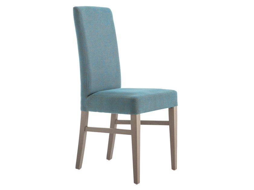 Upholstered beech chair LADY 47OG.i4 by Palma