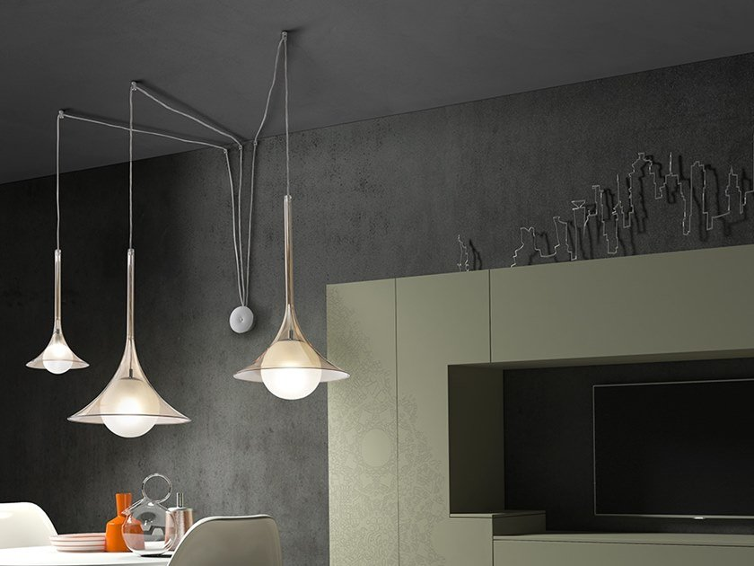 Pendant lamp LADY LOUIS by Cangini & Tucci