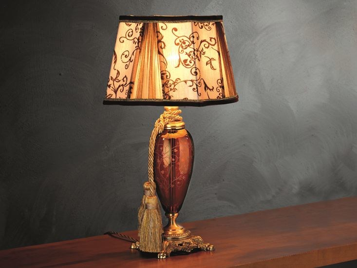 Table lamp LADY LP1 by Euroluce Lampadari